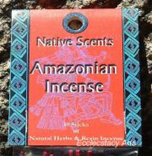 Native Scents Incense 10 Sticks Natural Fragrance Made in USA You Pick a Scent