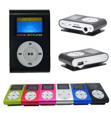"Lecteur MP3 MP4 Clip 1.8"" LCD Cable Chargeur USB Micro SD/TF 2-32 Go Radio FM"