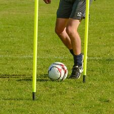 Slalom Poles - 5FT Spring Loaded Speed & Agility Football/Rugby Training Aids