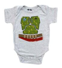 Infant Baby Space Syfy Movie Star Wars I Am Boba Fett Costume Onesie Romper