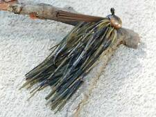 McBASSIN CUSTOM LURES WEEDLESS PRO FOOTBALL JIG - COPPER CRAW