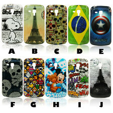 Pictorial Design Hard Back Cover w/LCD SP Samsung S7580, Galaxy S Duos 2 S7582