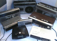 CLOCK RADIOS & OTHERS 1970/2000 SONY etc  - click on the site to chose and order