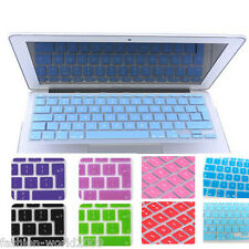 "UK EU Silicone Keyboard Cover for Apple Macbook Mac Air Pro 11""13""15""17""Colors"