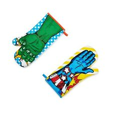 Superhero Oven Glove Mitt - Super Hero Gift - Hulk Captain America - Kitchen NEW