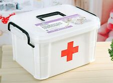 New First Aid Medicine Chest Box Medicine Storage Boxes Pill Boxes Cases