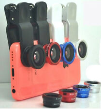 3in1 180 FishEye Wide Angle Micro New Photo Lens Zoom Camera Kit for Sony phone