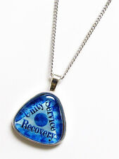 NEW Al-Anon 3 Legacies Recovery Unity Service Glass Triangle Necklace 12-Steps