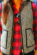 NWT J.Crew Excursion Quilted Puffer Vest in Herringbone Size:XXL