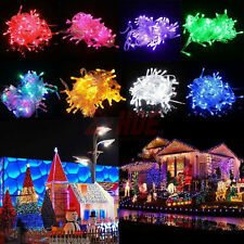 Waterproof 10M 100 LED String Fairy Lights Christmas Xmas Party Wedding light