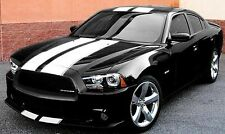STRIPE FACTORY DODGE CHARGER BUMPER TO BUMPER RALLY KIT WITH OUTLINE 2011/2015
