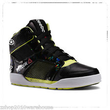 Reebok LM DANCE URTEMPO MID LEATHER Zumba shoe ~Soft US 8.5 LADIES FITNESS DANCE