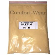 MULTANI MITTI FULLER'S EARTH Powder Glowing Face Pack Smoothen Skin Wrinkle 100g