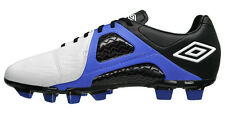 new-umbro-geometra-2-ii-precision-fg-mens-leather-soccer-cleats-white-blue