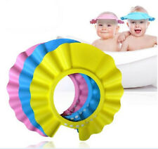 Great Baby Kids Children Shampoo Bath Bathing Shower Cap Hat Wash Hair Shield