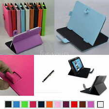 "Colorful Magic PU Leather Case+Stylus For 8"" Polaroid S8 A8 Android Tablet PC"