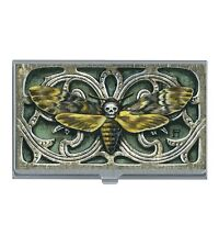 Classic Hardware BONNI REID Business Card Holder - Skull, Insect Nice!! NEW!