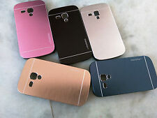 Back Cover For Samsung Galaxy S Duos2 S7582/S7562 Metallic Hard Back Motomo Case