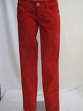 Mogul Darlin Baby Cord Pants Ladies Cord Trousers Red NEW!!!