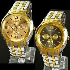 Fashion Men Stainless Steel Sport Analog Quartz Wrist Watch Wristwatches