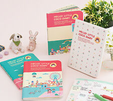 2015 Monthly Planner, Journal Organizer Scheduler, Cute Hello Little Coco Diary
