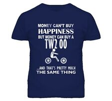 Money Cant Buy Happiness But It Can Buy A Yamaha Tw200 Distressed T Shirt
