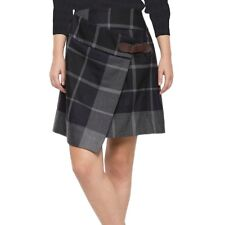 Vivienne Westwood Anglomania Grey Plaid Pleated Kilt Skirt - UK 8 / 40