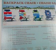 *NEW* Tommy Bahama Beach Chairs with Insulated Storage and Cargo Pouches