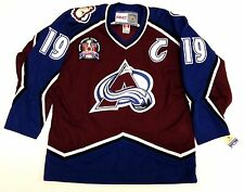 "JOE SAKIC COLORADO AVALANCHE 1996 STANLEY CUP CCM VINTAGE JERSEY WITH ""C"" NEW"