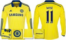 *14 / 15 - ADIDAS ; CHELSEA AWAY SHIRT LS / WISE 11 = SIZE*