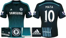 *14 / 15 - ADIDAS ; CHELSEA 3rd KIT SHIRT SS + PATCHES / MATA 10 = SIZE*