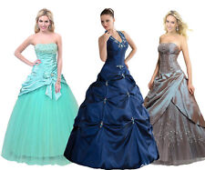 FairOnly Formal Evening Masquerade Ball Gown Prom Dresses Size 6 8 10 12 14 16