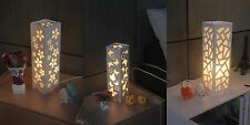 Asian Oriental Japanese Decor Art Contemporary Table Night Light Lamp Shades