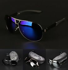 New Men's Polarized Sunglasses Driving Aviator Outdoor Sports Eyewear Casual Gla