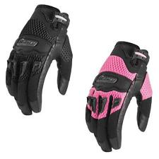 Icon Womens Twenty-Niner Goatskin Palm Motorcycle 29er Gloves