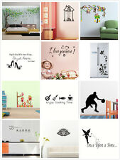 DIY Removable Wall Stickers Mural Art Vinyl Family Home Kids Decal Decor