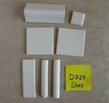 Discontinued Dal Matte Tile 700 series D714 D727 D736 Steel Shell Fawn daltile