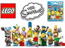LEGO SIMPSONS MINIFIGURES - COMPLETE YOUR COLLECTION - CHOOSE A MINIFIGURE - NEW