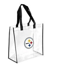NFL Football Clear Reuseable Grocery Bag Purse Tote Women Men