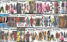 OOP Simplicity Sewing Pattern Misses Coats Jackets Winter Outerwear  You Pick