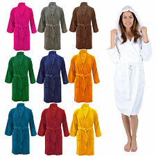NEW TOWELING DRESSING GOWN ROBE LUXURY 100% EGYPTIAN COTTON unisex