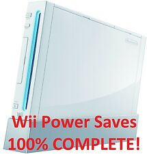 Wii Power Saves 100% COMPLETE AND UNLOCKED!