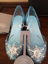 NWT DISNEY STORE FROZEN ELSA LIGHT UP SHOES 7/8,9/10,13/1,2/3 ANNA SIS~CHRISTMAS