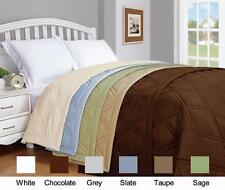 Pur Luxe Microfiber Solid Color Down Alternative Blanket