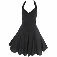 VINTAGE 1950'S ROCKABILLY STYLE SWING PINUP EVENING PARTY DRESS SIZES 8-20