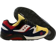 Saucony x Play Cloths Men Shadow Grid 9000 - Motocross Pusha T 077 (yellow / red