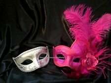 For man and woman Halloween Christmas New Year Eve Party Couple Masquerade mask