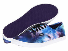 VANS Authentic LO PRO COSMIC GALAXY BLACK/WHITE/BLUE/PURPLE WOMEN SHOE SIZES