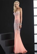 Sexy Beaded Long Prom dress Ball gown Formal Evening Party wedding dress