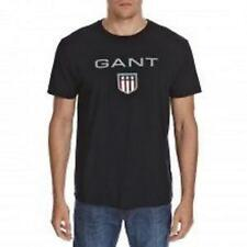GANT (2XL, 4XL) BLACK LOGO T.SHIRT